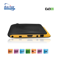 2018 Best Price Mini Hd Receiver Dvb S2 Set Top Box Satellite TV Internet Digital Sat Finder
