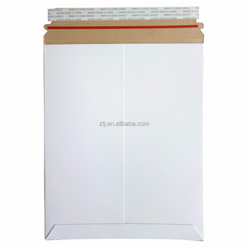 26PT supper rigid stay flat mailers for packaging