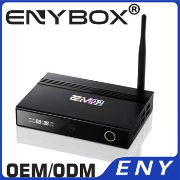Quality Assured EM92 Android 6.0 Marshmallow 5G WIFI 1000M Ethernet Octa Core Android TV Box