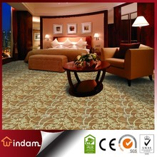 WD4P304 commercial design loop pile pp wall to wall floral carpet
