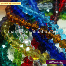 Mixed Czech beads in bulk small hole faced crystal beads