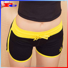 Cotton Polyester Spandex Printed or embroidered Ladies Gym Wear Custom workout shorts women
