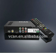 Satellite receiver software upgrade DVB-T2009HD-617 portable HD Car digital DVB-T Receiver with 250KM/Hour