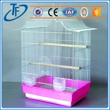 high quality stainless steel pet cage , clear acrylic pet cage