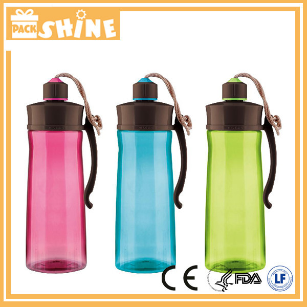 Transparent BPA-free 500ml plastic sport water bottle caps at low cost