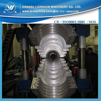 HDPE pipe extrusion machine two layers plastic corrugated pipe machine