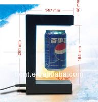 New Technology ! Magnetic Levitating Promotion Display stand, promotion gif