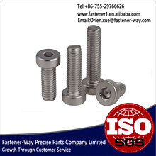 Stainless Steel 304 Thin Cap Head Hex Socket Full Thread Screw