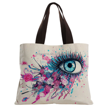 New Custom Factory Wholesale Soft Canvas Material Tote Bags
