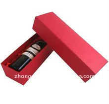 common cardboard handicraft case for gifts or bottle box