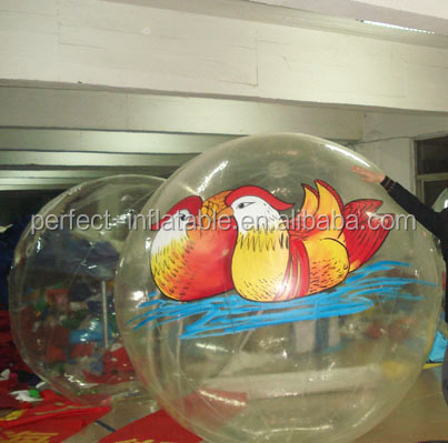 Giant water ball, inflatable water walking ball, water floating light ball for sale
