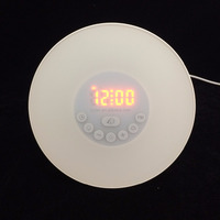 personalized pop-up digital touch light alarm clock