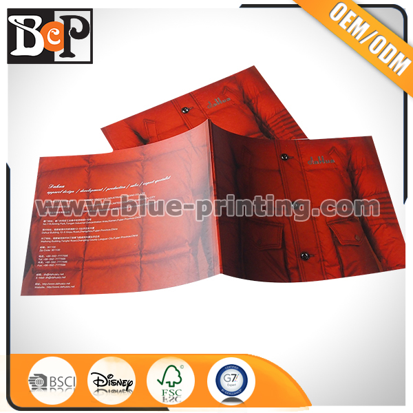 Custom Design Product Catalogue Cheap Brochure Printing with Low Cost