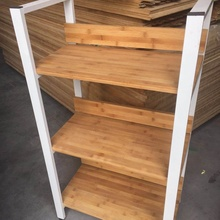 Cheap price 5 tier bamboo book storage <strong>shelf</strong>
