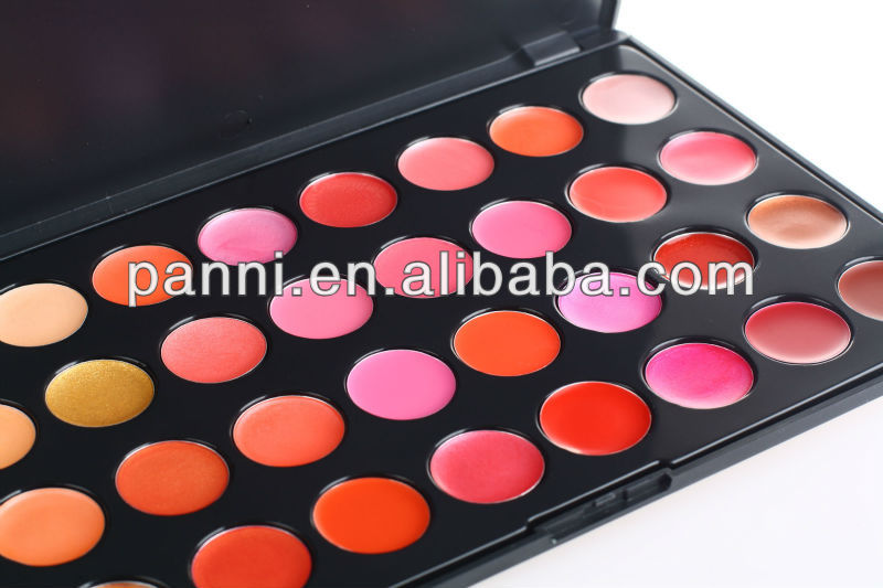 Gorgeous 32 color lipgloss makeup palette lip stick palette #2