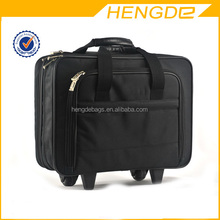 16 inch oxford air travel fashionable laptop trolley bags