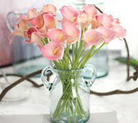 High quality PU artificial calla lilly for home decoration