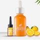 Private label Anti Aging Organic 20% Vitamin C whitening face serum with Hyaluronic Acid 1.OZ