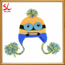 Wholesale Baby Winter Knitted Hat Newborn Crochet Cartoon Hat Photo Photography