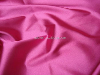100% Polyester Satin fabric for nightdress, evening dress