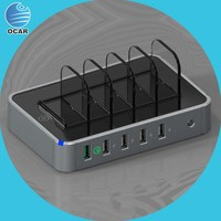 alibaba shop 5 port usb charger cell phone charging apply to kiosk or car