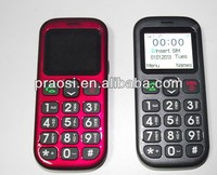 long stand large fonts display cell phone for elderly people
