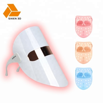 NEW reusable led facial skin mask light therapy