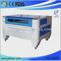 co2 double heads laser cutting machine/laser cutter JQ1390