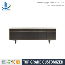 Wooden extra long five doors sideboard furniture DL-SI01