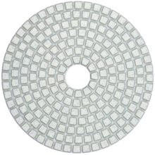 Factory high quality 4inch wet/dry resin marble granite tile diamond polishing pad