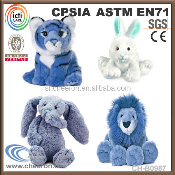 Hot selling plush animals plush tiger and plush <strong>rabbit</strong>