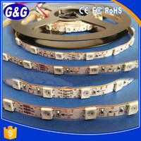 5mm led strip Addressable led strip WS2812B 100/60/30 pixels