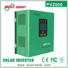 hot selling PV2000 solar inverter 300w/700w/1200w high efficiency low frequency off grid solar ac dc inverters