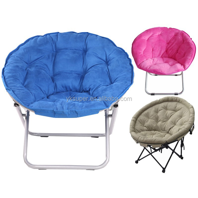 Moon Chair wholesale adult folding half moon chair/round seat folding chair