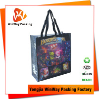 USA Market Eco Friendly PP Non Woven Laminated Tote Bag