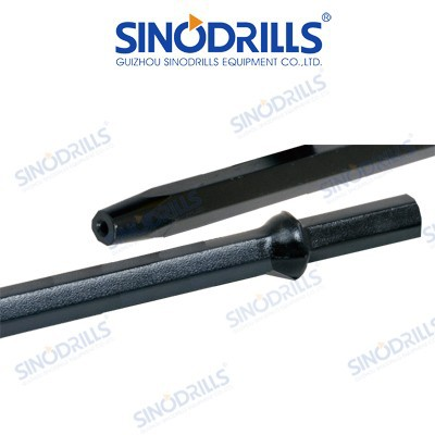 SINODRILLS Tapered Drill Rods for Water well, Construction, Mining