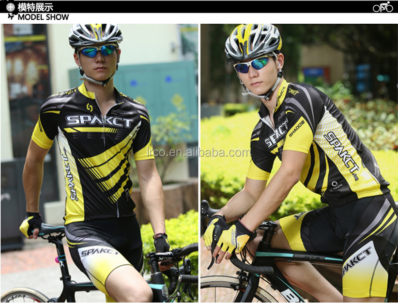 China hot selling cycling jerseys 100% polyester sportswear high quality custom clothing
