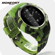 waterproof touch screen support android watch phone for samsung galaxy gear bluetooth smart watch