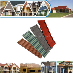 red rainbow stone metal roof tile, Synthetic bitumen price