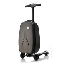 Multi Function Fashion Portable Electric Luggage Scooter
