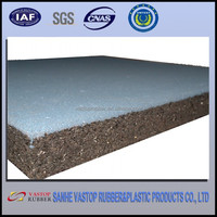 High Quality Shock Absorption Recycled 1 Inch Thick Rubber Mat for Playground