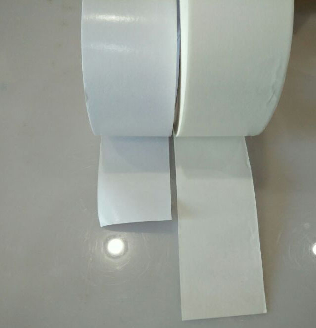 Foam Lamination of double sided tissue tape