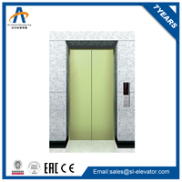 vertical electric hydraulic lift mechanism for bed elevator