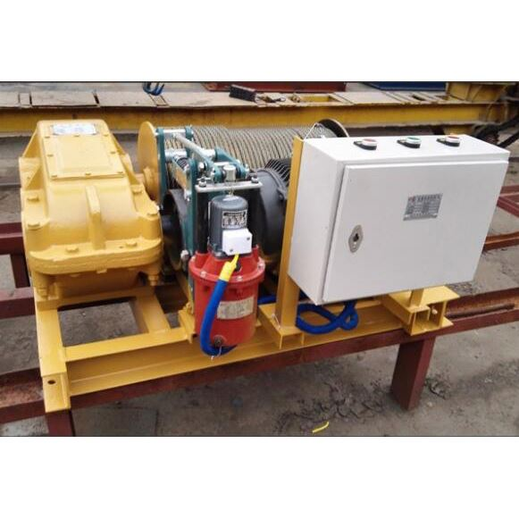 Factory price high speed CE certified electric double drum winch