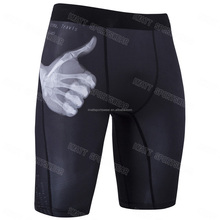 men compression vale tudo shorts
