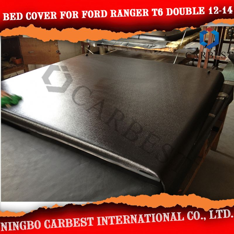 High Quality FRP Bed Cover For FORD Ranger T6 Double Cab 5' Short Bed 2012-2014