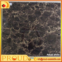 600x600mm 3D injket glossy full glazed porcelain floor/wall tile