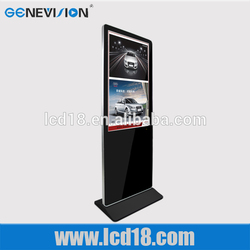Brochure Stand 3g Wifi Network Kiosk Lcd Ad Interactive Full Hd 1080p Touch Screen Lcd Digital Signage Media ad Player 3g