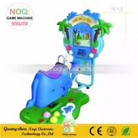 NQK-V09 2016 new coin operated 3d crazy horse kiddie rides racing game machine swing video game for children play
