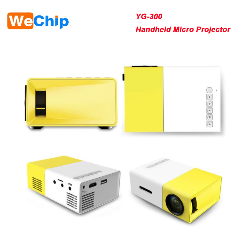 2017 YG300 HDMI USB CinemaTheater Beamer Multimedia Projector Game Mini Portable Home LED Pocket Projector best selling